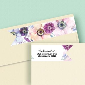 Days of Beauty Connect Wrap Diecut Address Labels