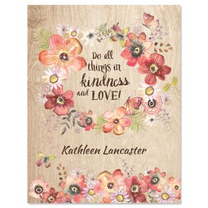 Kindness Custom Note Cards
