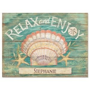 Seas the Day Personalized Note Cards