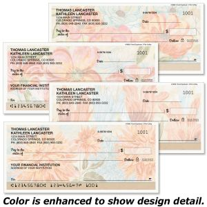 Floral Daydream Personal Checks