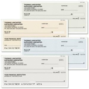 Neutral Personal Checks