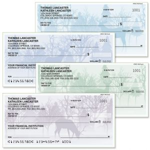Wild Forest Personal Checks