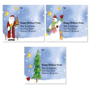 Snowfolks Package Labels (3 Designs)
