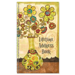 Gypsy Garden Lifetime Address Book