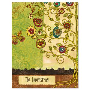 Gypsy Garden Custom Note Cards