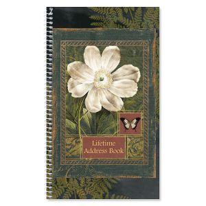 Poetic Garden Lifetime Address Book
