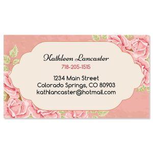 Romantic Rose Business Cards
