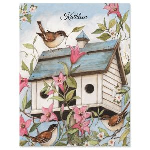 Signs of Spring Custom Note Cards