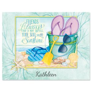Sunshine Friends Custom Note Cards