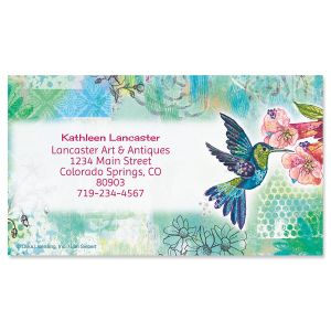 Joyful Hummingbird Business Cards