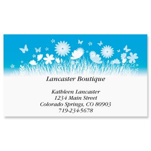 Simple Garden Business Cards