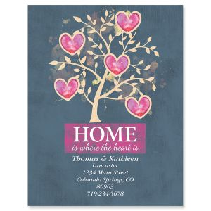 Home Is Where The Heart Is New Address Postcards