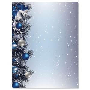 christmas letter stationery paper colorful images