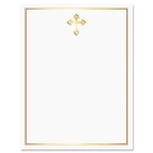 Golden Cross Faith Letter Papers