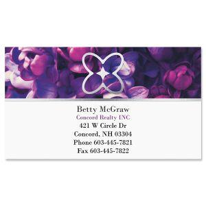 Granite & Gold  Foil Business Cards