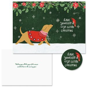 Cozy Christmas Christmas Cards