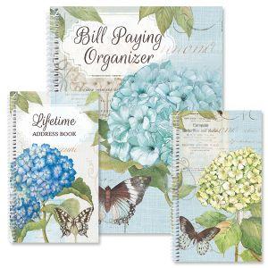 Hydrangea Nature Organizer Books