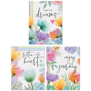Happy Garden Custom Note Cards