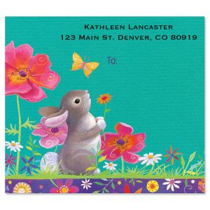 Springtime Friends Package Labels