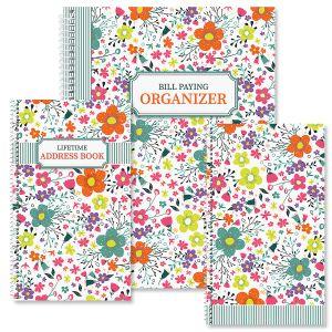Rainbow Daisies Organizer Books