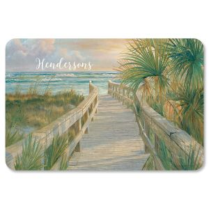 Personalized Beach Path Floor Mat