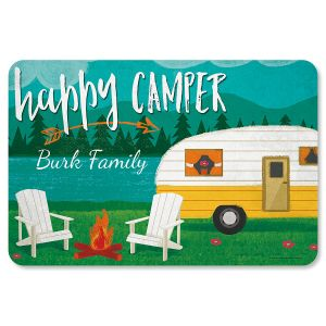 Happy Camper Welcome Mat