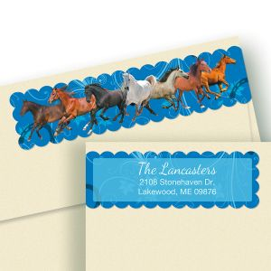 Thoroughbred Connect Wrap Diecut Address Labels