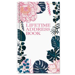 Lush Elegance Lifetime Address Book