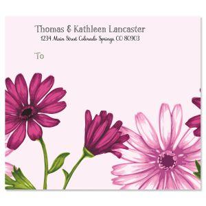 Fancy Florals Package Labels