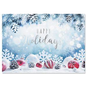 Snowy Fir Christmas Cards