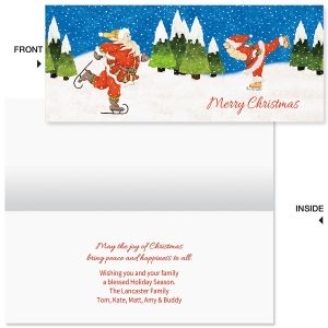 Snowbunga Slimline Holiday Cards