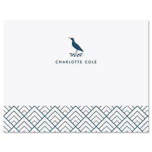Sandpiper Custom Note Cards