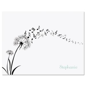 Dandelion Notes Custom Note Cards