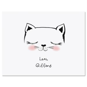 Kitty Ears Custom Note Cards