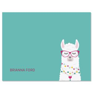 Simple Llama Custom Note Cards