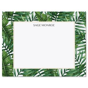 Tropical Wishes Custom Note Cards