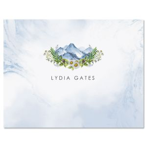 Ethereal Woodland Custom Note Cards