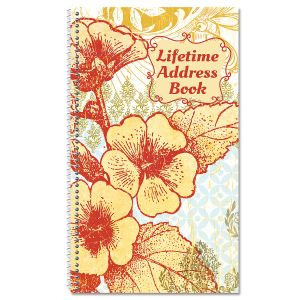 Garden Party Lifetime Address Book