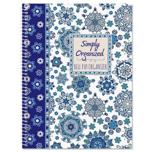 BOHO Fantasy Bill Paying Organizer