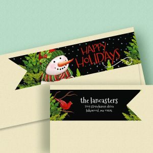 Tweet Greetings Connect Wrap Diecut Address Labels
