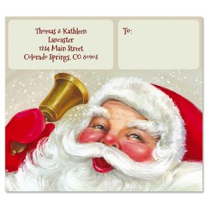 Christmas Ringing Package Labels