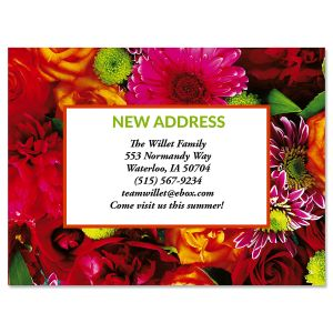 Refreshing Move New Address Postcards