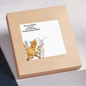 Sweet Fox Package Labels