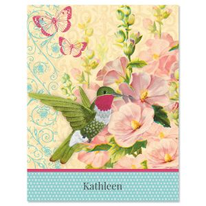 Spring Greetings Custom Note Cards