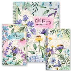 Wildflower Sanctuary Organizer Books