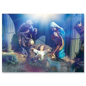 Blessed Nativity Christmas Cards