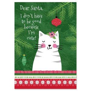 Crazy Cats Christmas Cards