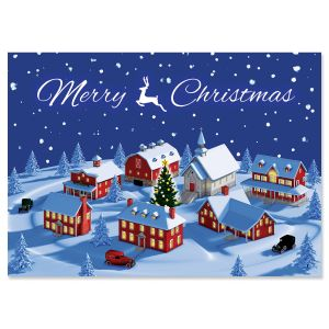 Christmas Town Christmas Cards