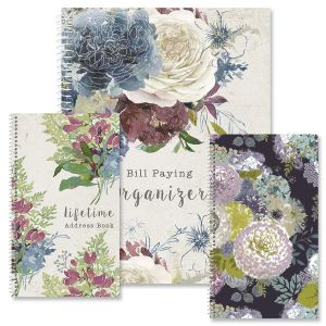 Fall Florals Organizer Books