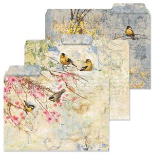 Feathered Nest File Folders